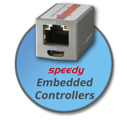 Click this bubble to learn about Bardac Drives speedy embedded automation controllers