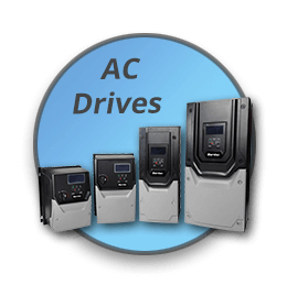AC Drives and Motors to 300HP