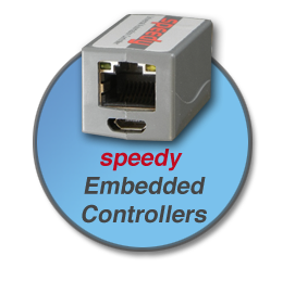 speedy and drive.web...distributed control over Ethernet