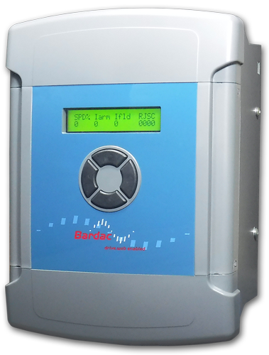 PLX15   Fully digital DC drive with English language display and a full suite of application blocks in a small footprint.