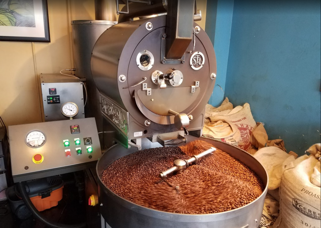 Bardac E3 Series AC Drive in Coffee Roaster